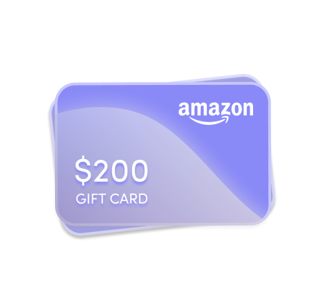200 amazon gift card raffle image