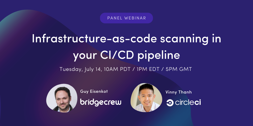 Infrastructure-as-code scanning in your CI/CD workflow with Bridgecrew and CircleCI