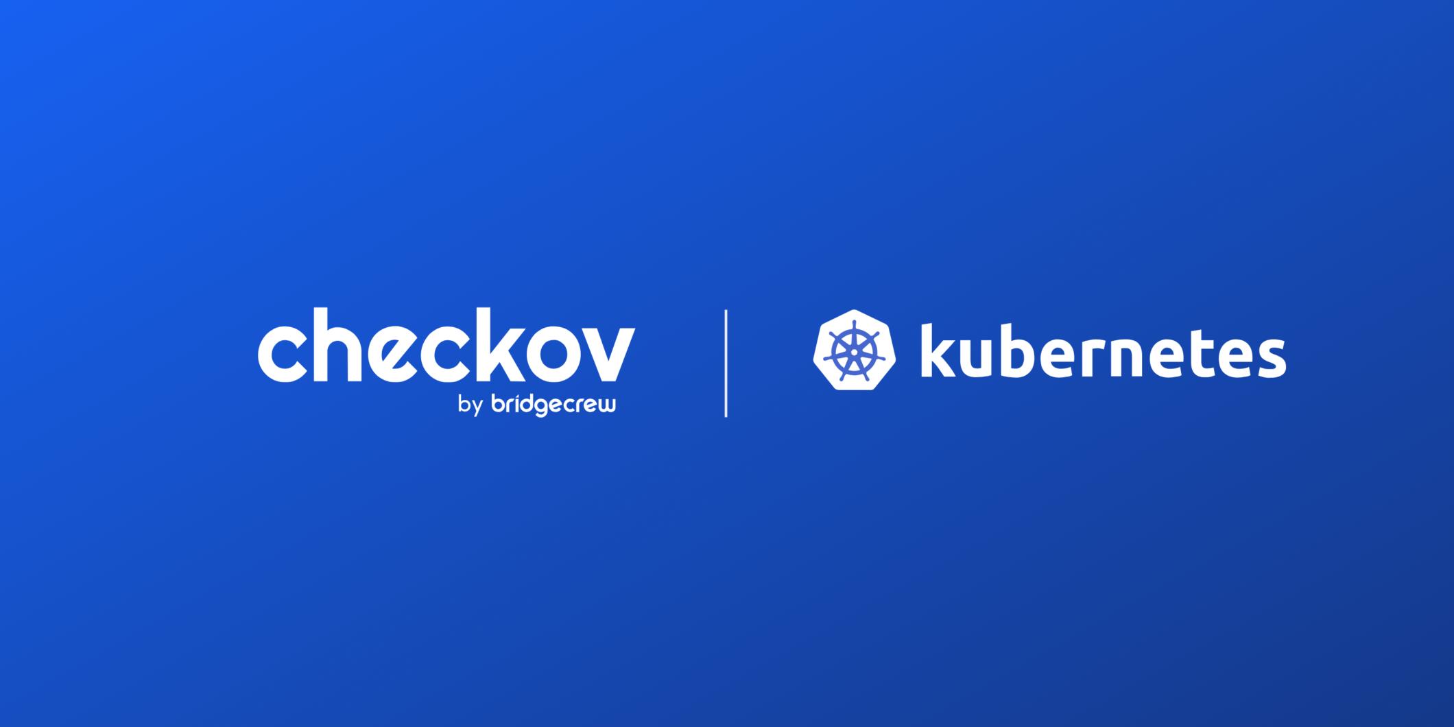 Checkov by Bridgecre & Kubernetes logo