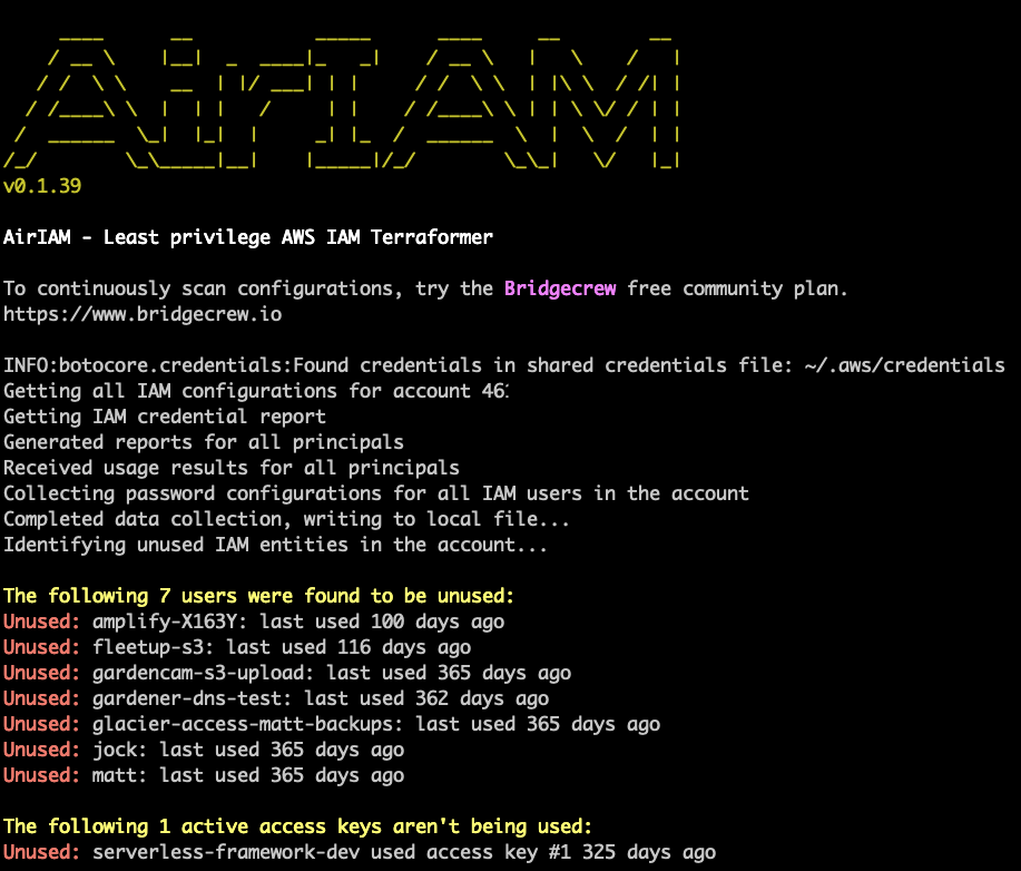 AirIAM open source