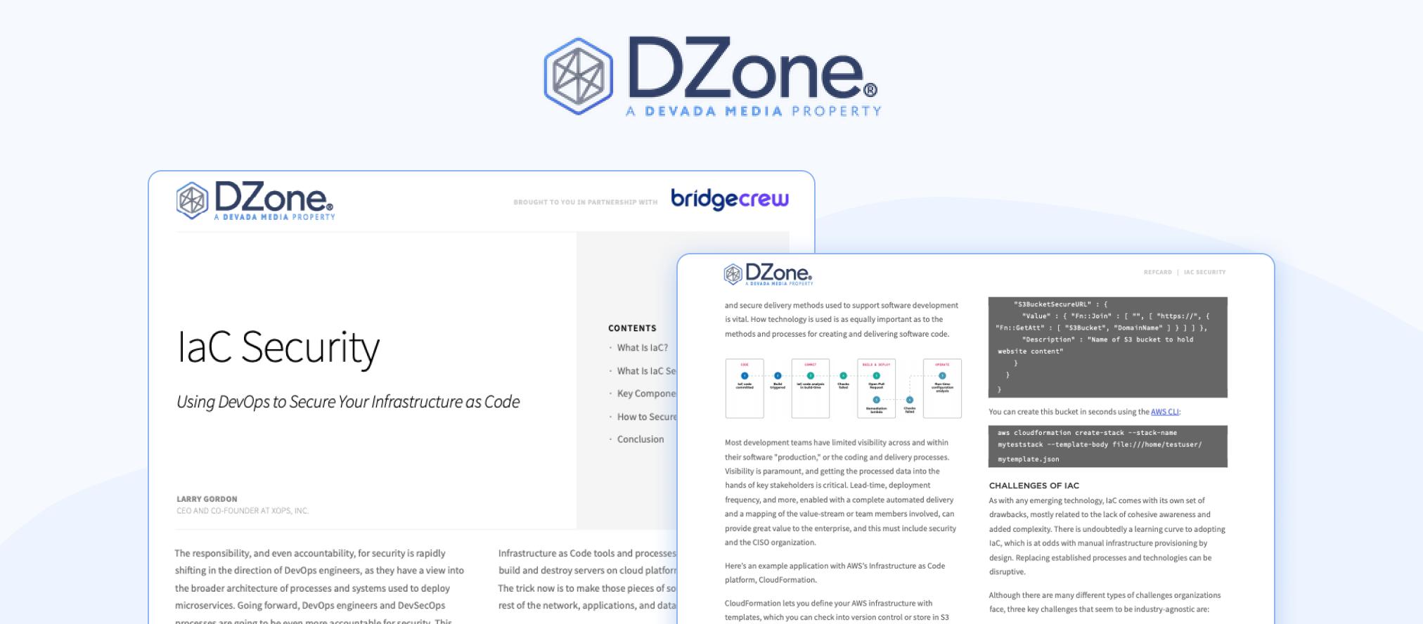 DZone Refcard IaC Security