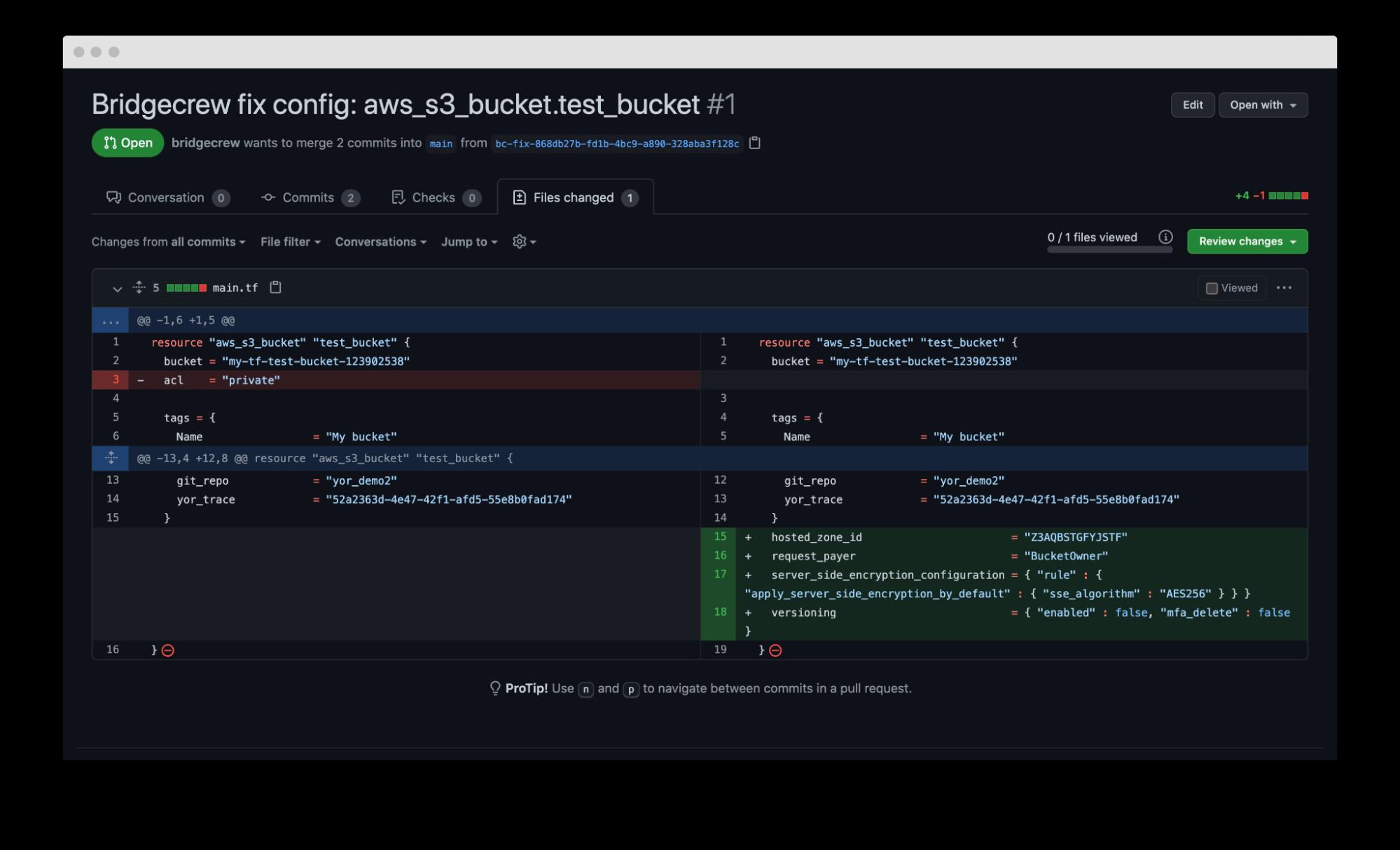 drift detection repo screenshot