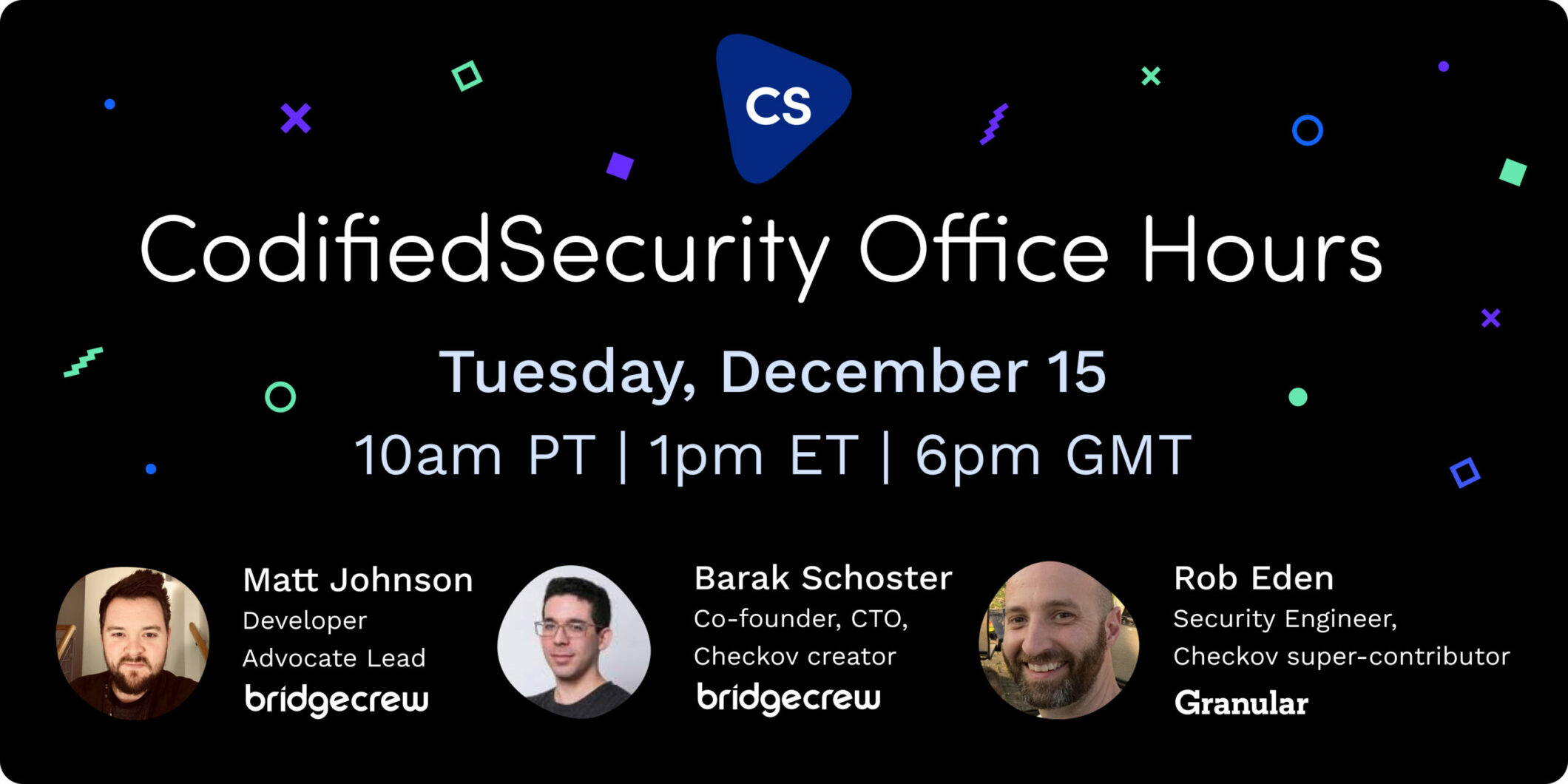 Codified Security Office Hours Episode 04