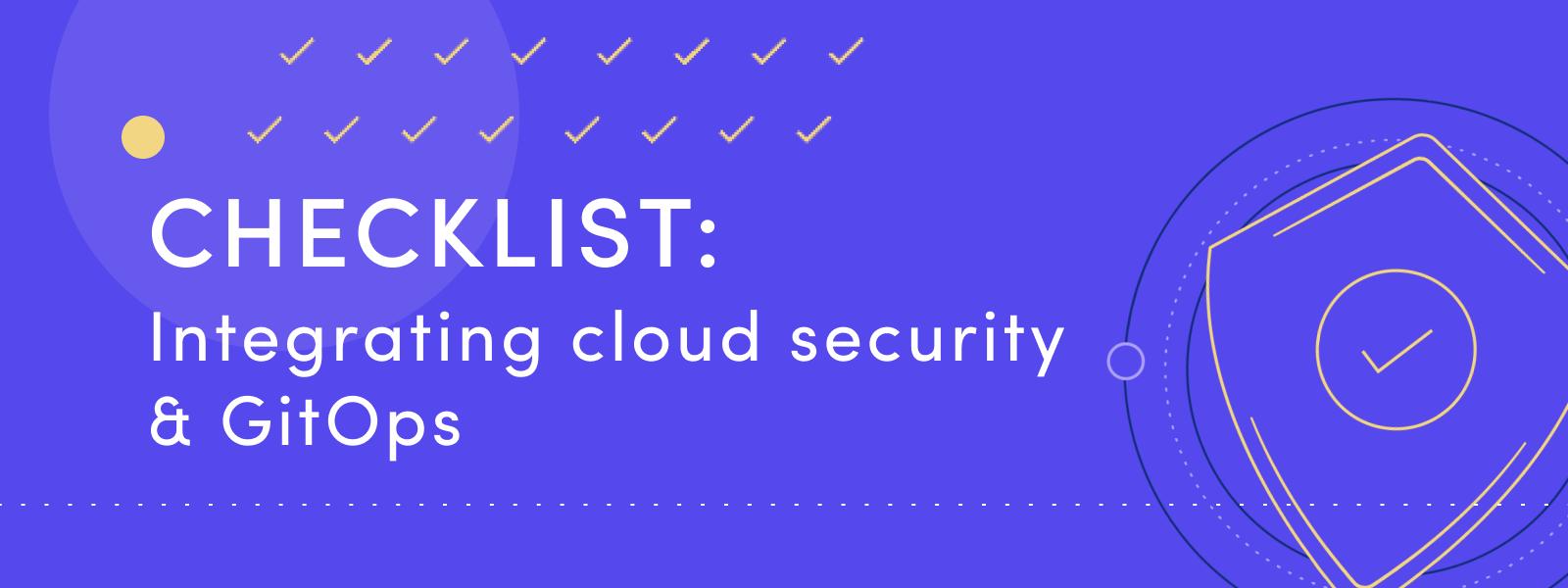 GitOps checklist form image shortened