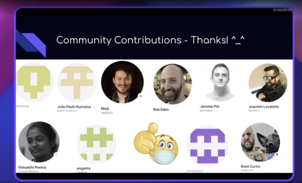 Episode 03 Community Contributors
