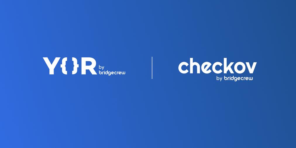 Yor + Checkov logos
