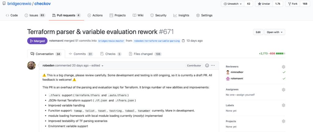 Checkov variable evaluation