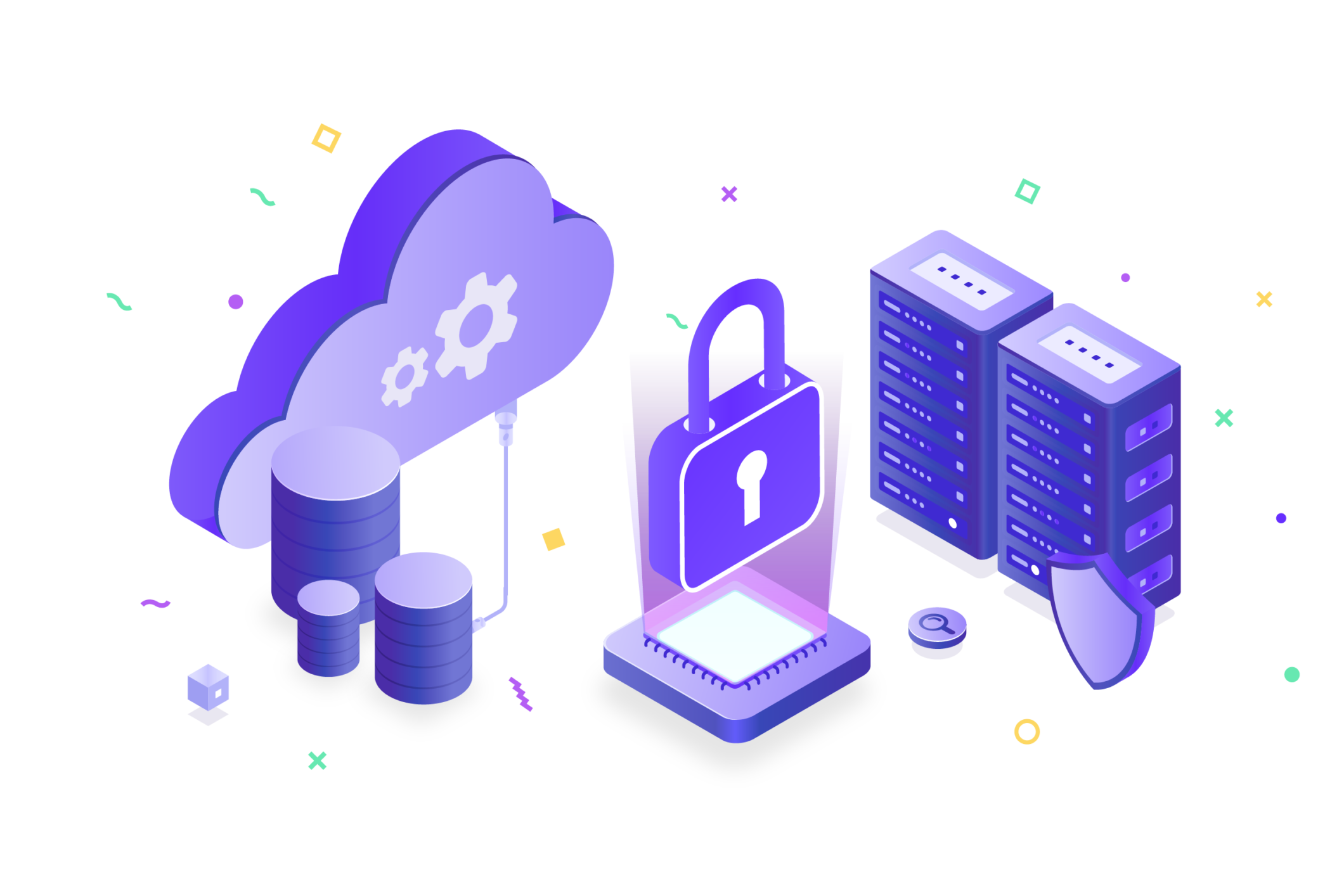 Developer-first cloud security icons