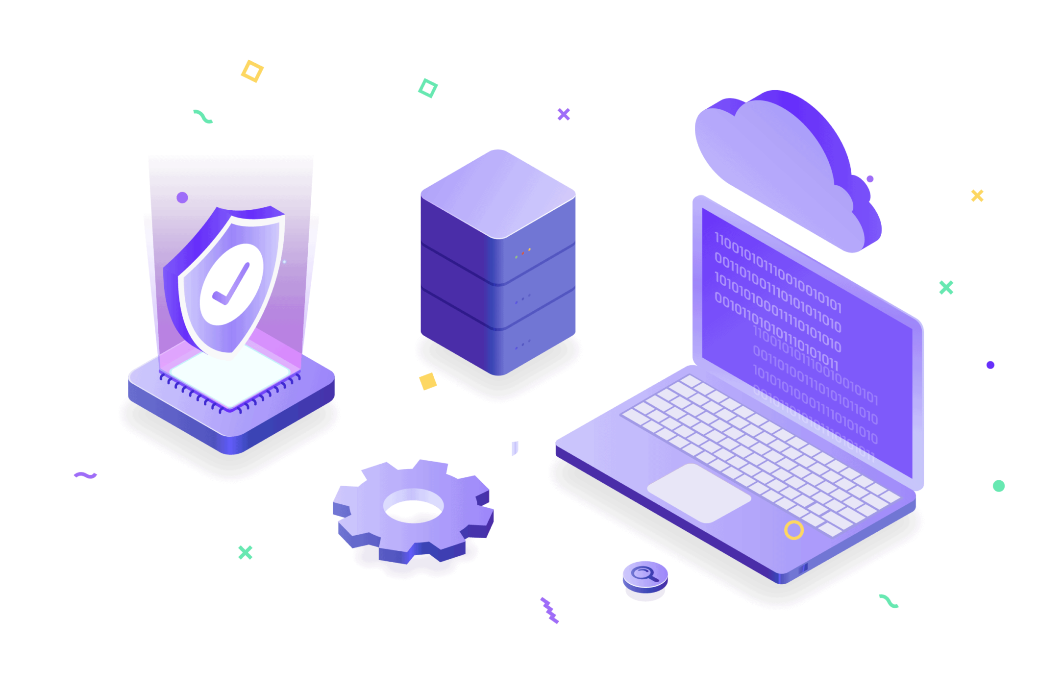 Streamlined cloud DevSecOps icon
