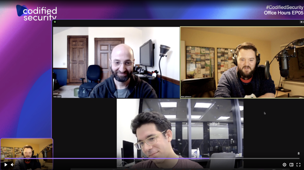 Codified Security Office Hours Recap