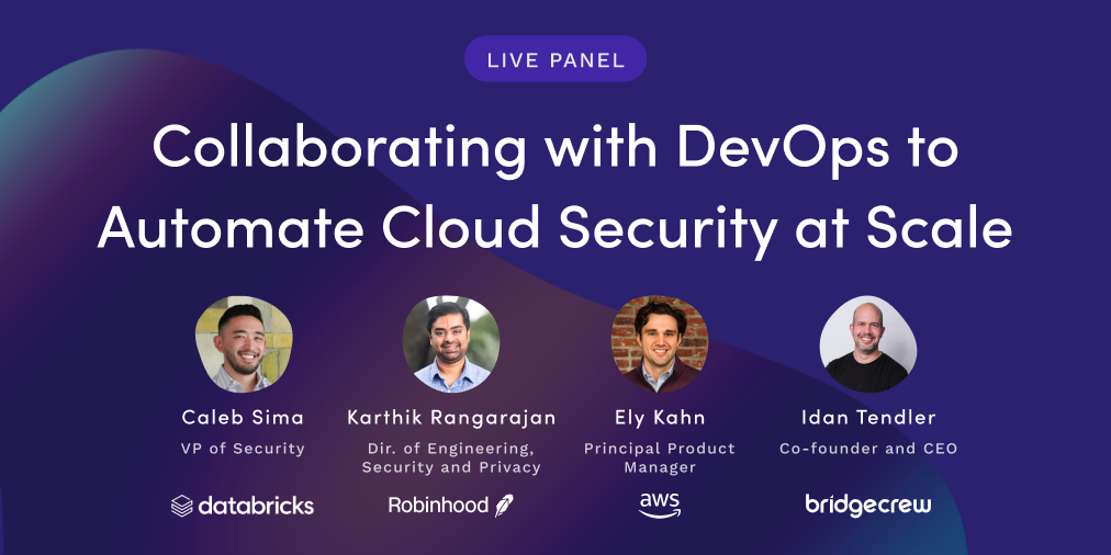 Collaborating with DevOps to automate cloud security at scale